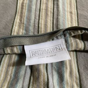 2 Restoration Hardware Pillow Covers
